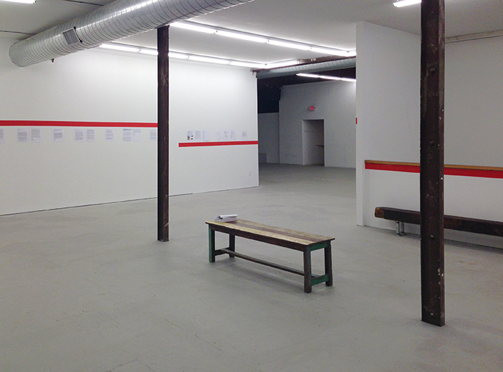 Non-Participation, Installation view, The Luminary, St. Louis